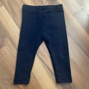 Joe Fresh 6-12m Navy Blue Leggings